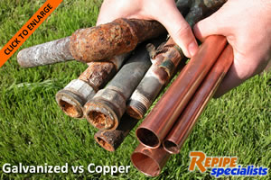 Copper repipe services repipe specialists for How much does pex cost